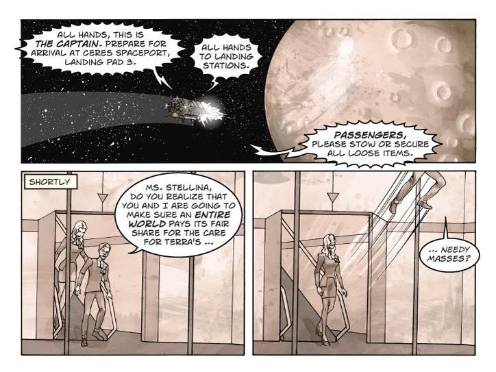 Strip 11 of Escape From Terra
