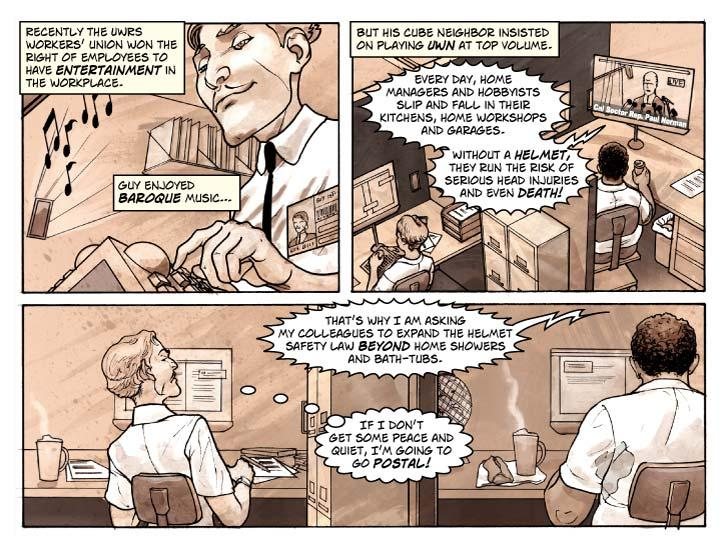Strip 3 – That damned noise