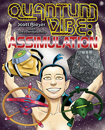 Quantum Vibe, Assimulation - Front Cover